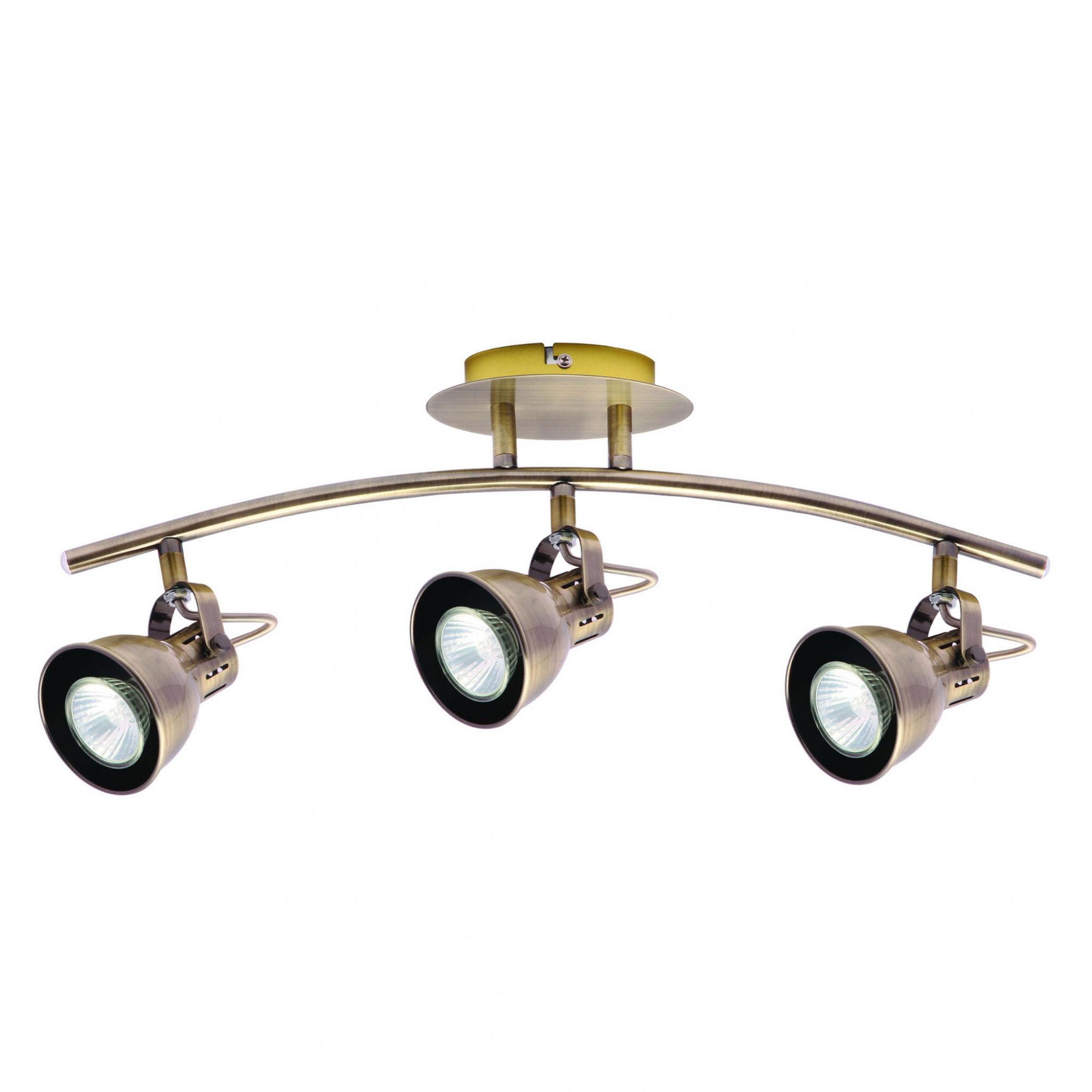 Kinkiet Bolzano 3 LP-8067/3W Light Prestige klasyczna lampa ścienna w kolorze patyny