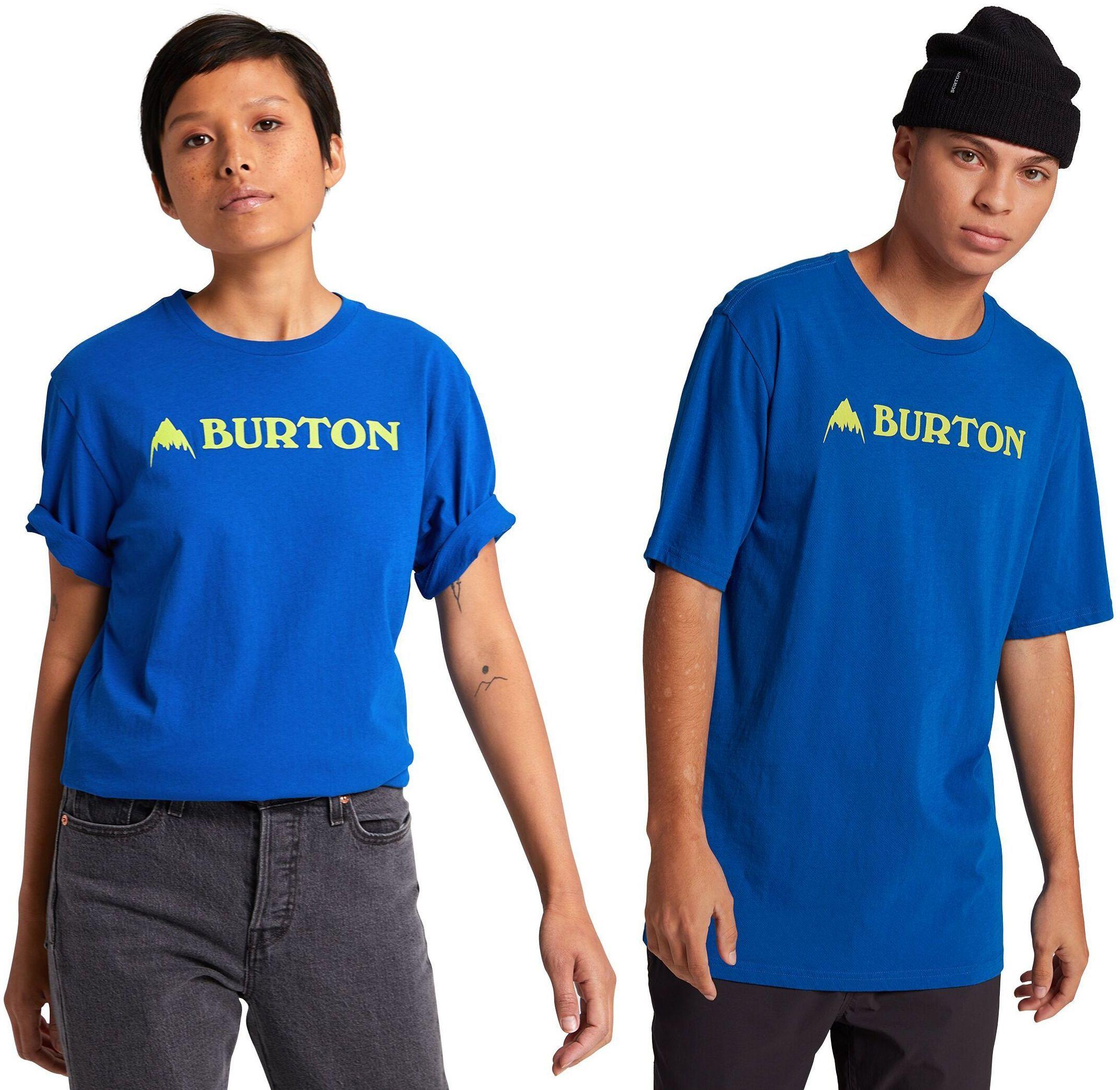 koszulka BURTON UA HORIZONTAL MOUNTAIN SS Lapis Blue