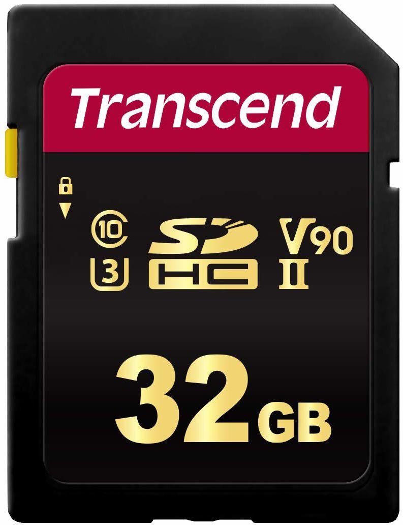 Transcend SDC700S 32GB SD card UHS-II U3, 285/180 MB/s (TS32GSDC700S)