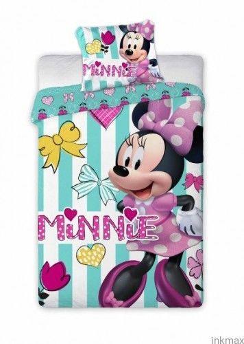 Pościel Dziecięca 100x135+40x60 Disney Minnie Mouse 084