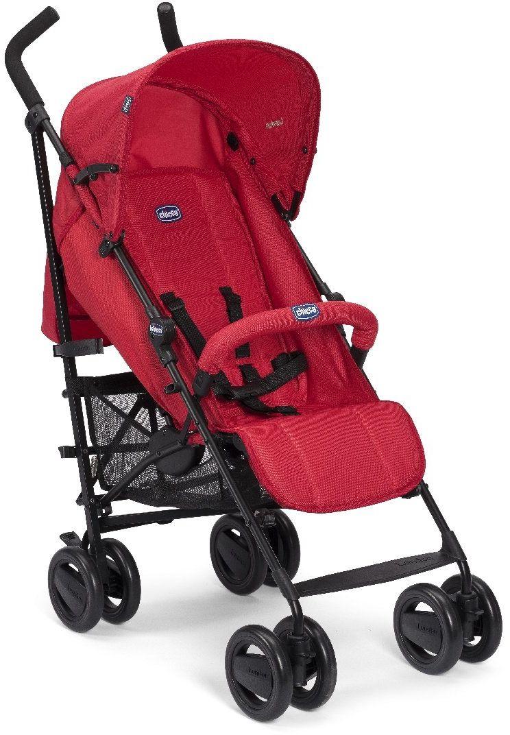 Chicco Wózek Spacerowy z Pałąkiem Red Chicco Wózek Spacerowy z Podwójnymi Kółkami 0m+