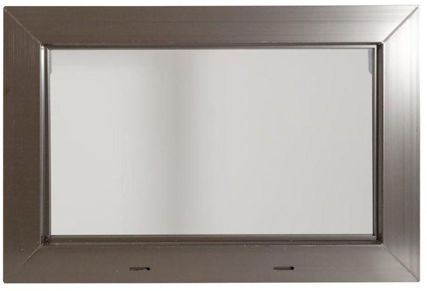 Okno gospodarcze KIPP Brązowe 600 x 400 mm ACO