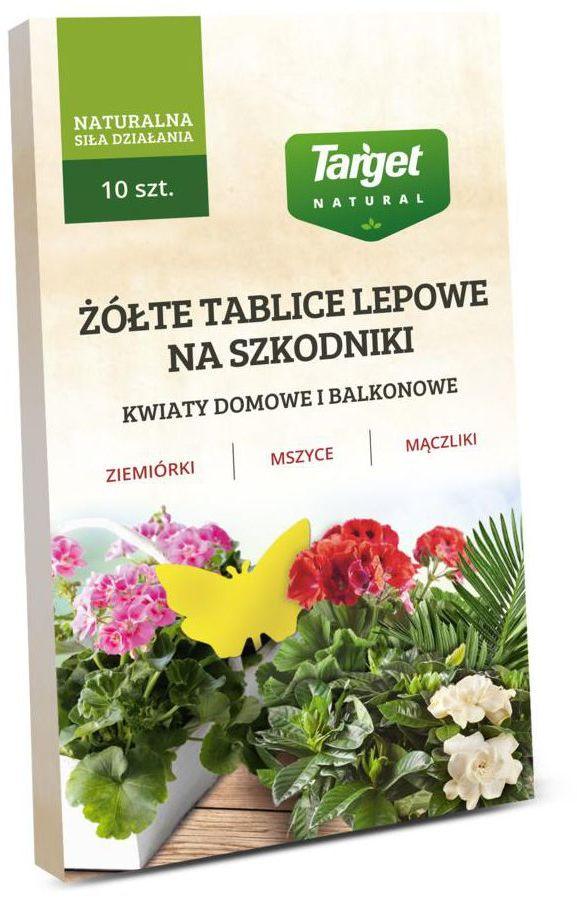 Owadobójczy TABLICE LEPOWE 10 SZT TARGET