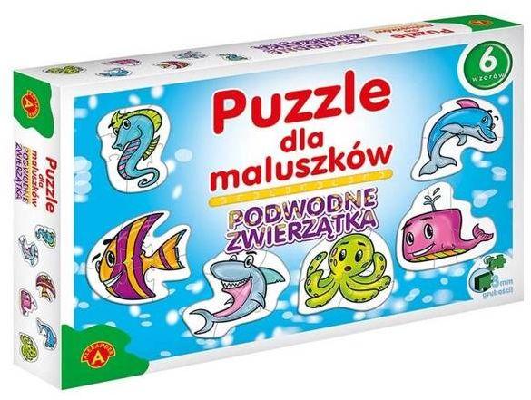 Puzzle dla maluszków - podwodne zwierzęta ALEX - Alexander