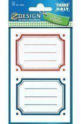 Naklejki na książki i zeszyty - prostokątne - Avery Zweckform