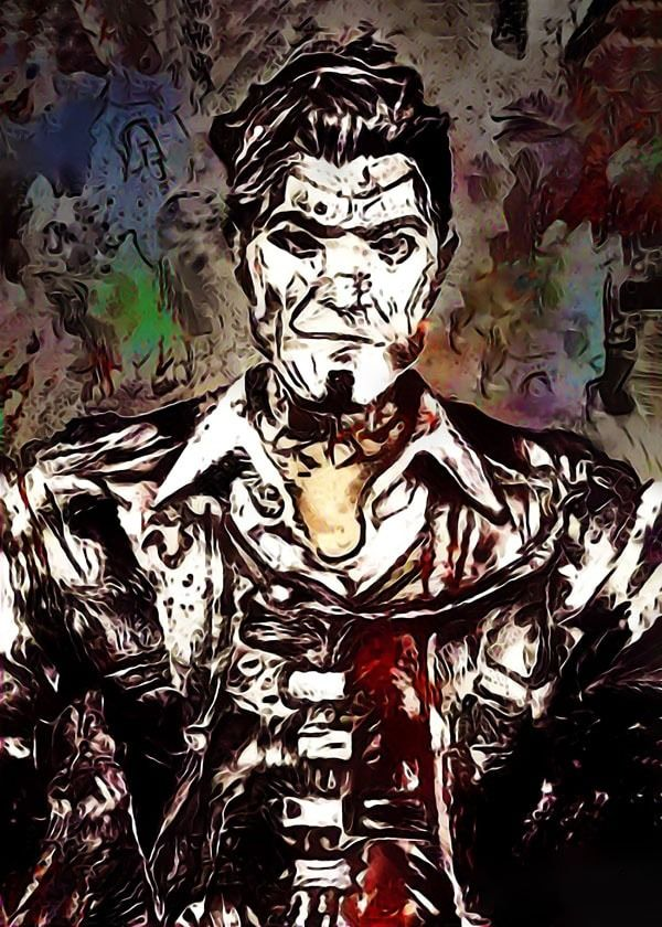 Legends of bedlam - handsome jack, borderlands - plakat wymiar do wyboru: 59,4x84,1 cm