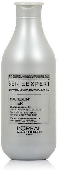 Loreal Expert Silver Szampon do włosów rozjaśnionych lub siwych 300 ml