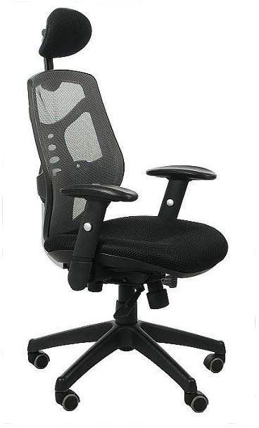 Fotel biurowy Sit Plus Spectrum HB-NET szary --- OFICJALNY SKLEP Sitplus