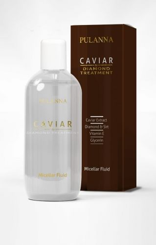 Płyn micelarny do demakijażu CAVIAR & DIAMOND Pulanna, 200 ml