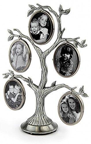 Drzewko genealogiczne 5 zawieszek srebrne CK 518