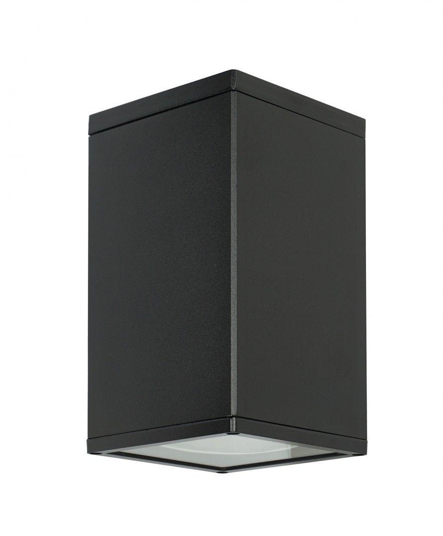 SU-MA Adela 8003 BL oprawa sufitowa czarna E27 IP54