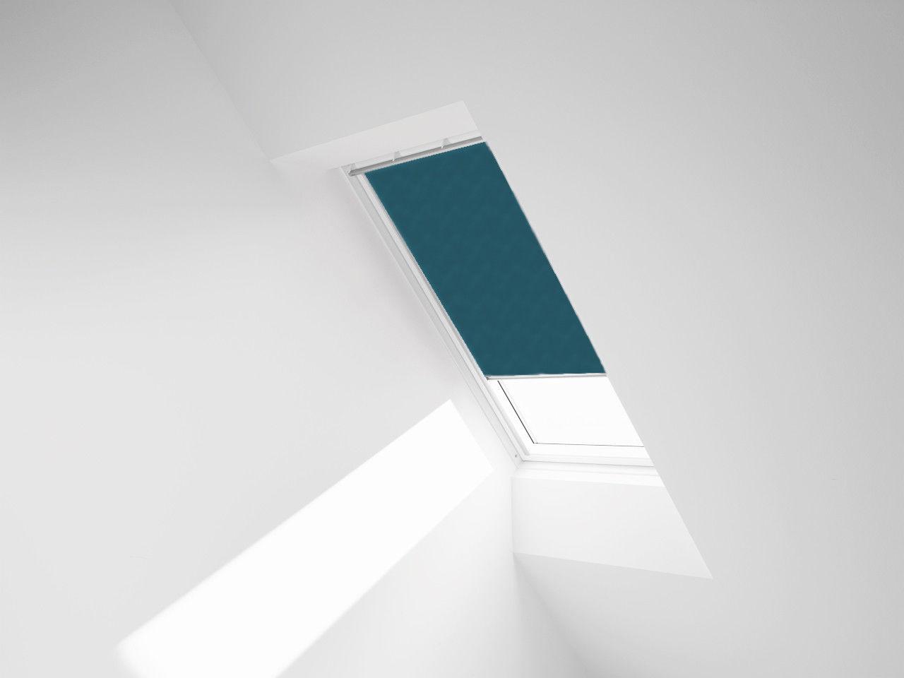 ROLETA ZACIEMNIAJĄCA ROOFART DUR - kolor 4232 (turkusowy) - 55x78 C2A