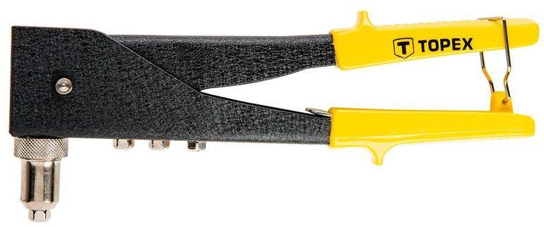 Nitownica do nitów aluminiowych 2,4-3,2-4,0-4,8mm dwupołożeniowa 43E712