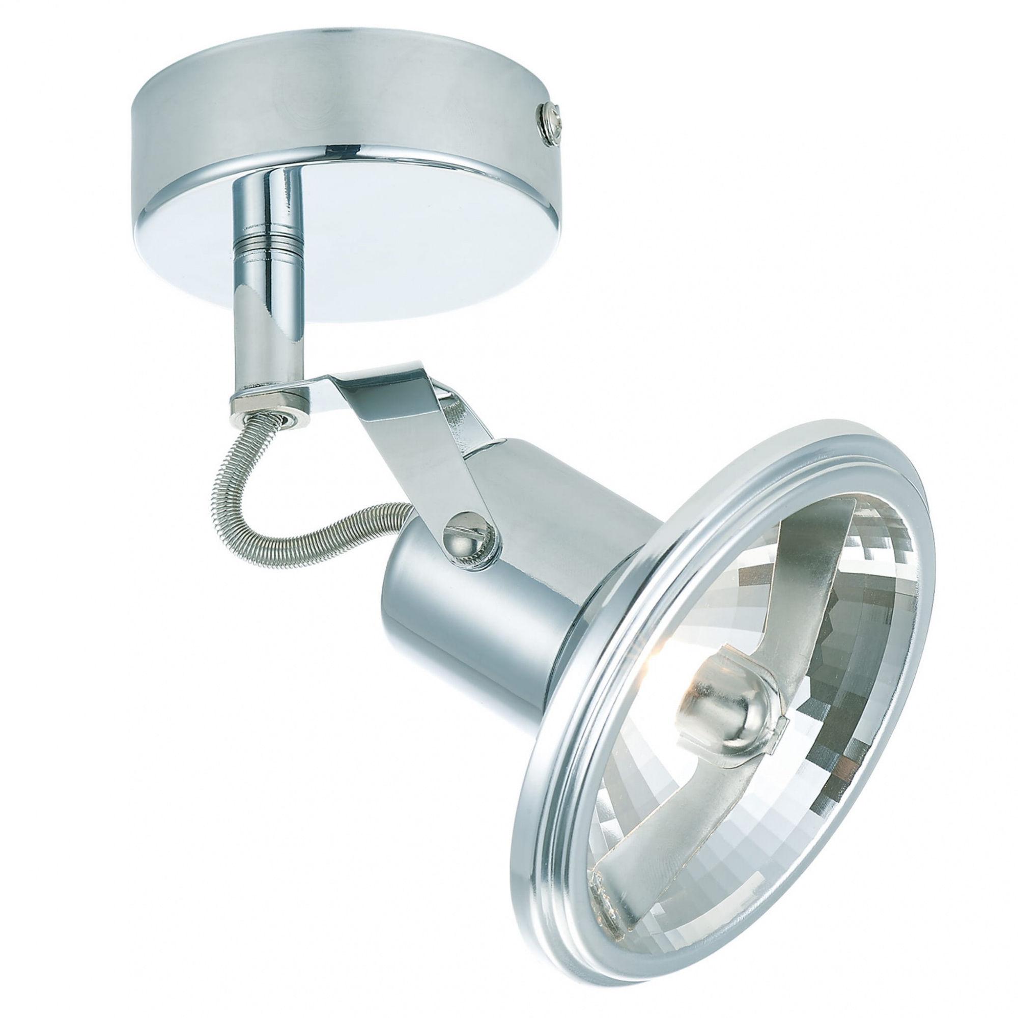 Kinkiet Feltre 1 LP-725/1W Light Prestige nowoczesna lampa ścienna w kolorze chromu
