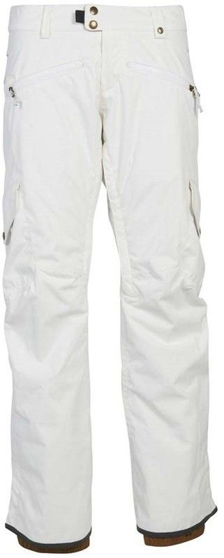 spodnie 686 - Mistress Insl Cargo Pant White (WHT)