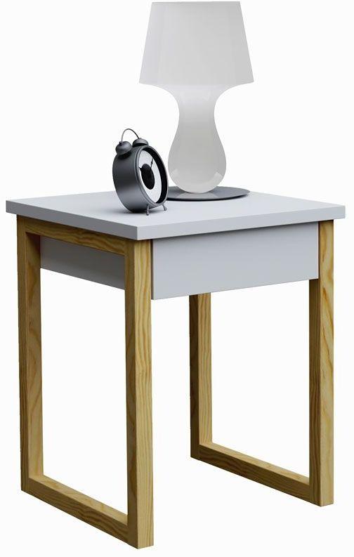Skandynawski stolik nocny Inelo D10