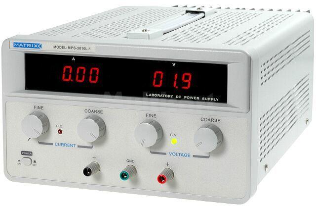 Zasilacz laboratoryjny z regulacją napięcia i prądu Kanały:1 0-30V 10A
