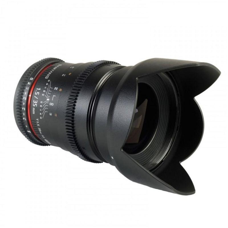 Samyang T1.5 VDSLR 35 mm, AS IF UMC do Pentax K