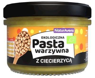 Pasta Warzywna z Ciecierzycą 185g - NaturaVena