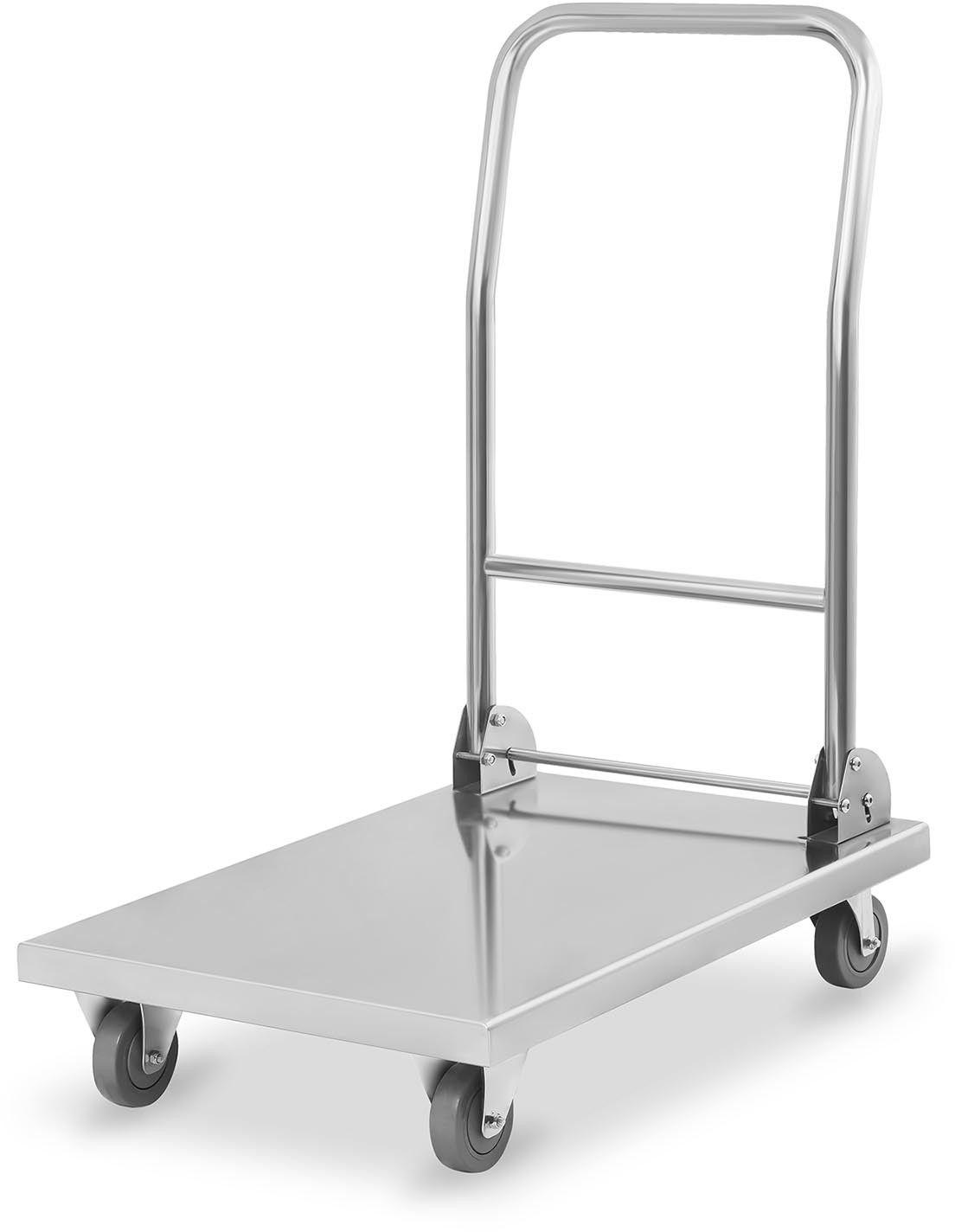 Wózek platformowy - 400 kg - Royal Catering - RCFT-1.1 - 3 lata gwarancji/wysyłka w 24h