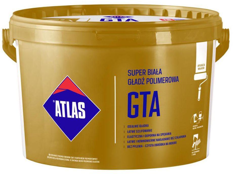 Gotowa gładź polimerowa GTA 18 kg ATLAS