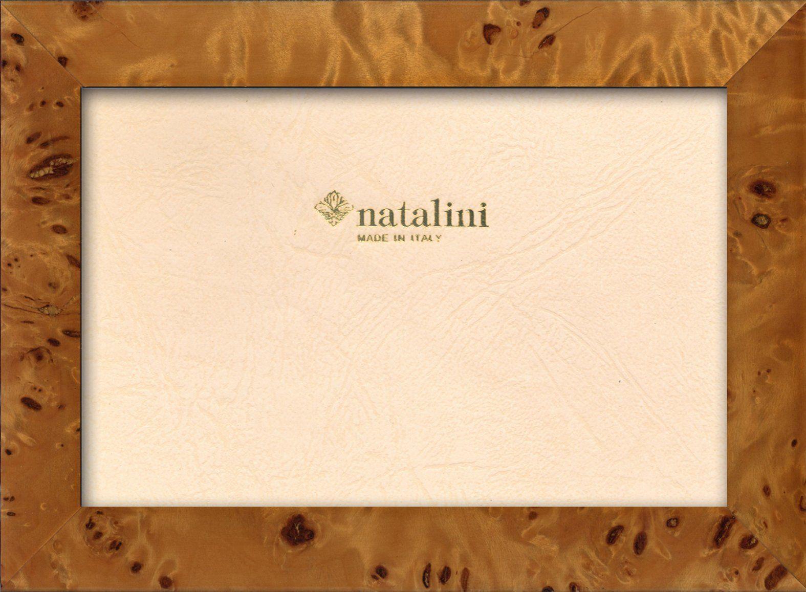 Natalini Ramka na zdjęcia Marquetry wykonana we Włoszech, tulipan, topola, 12 cm x 18 cm