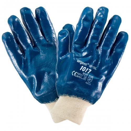 Rękawice robocze URGENT 1017 nitryl