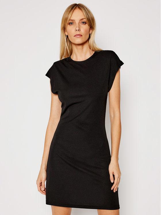 Silvian Heach Sukienka codzienna Gengrass PGP21261VE Czarny Slim Fit
