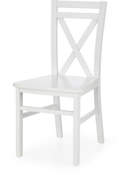 Krzesło DARIUSZ 2 białe drewniane Halmar  KUP TERAZ - OTRZYMAJ RABAT