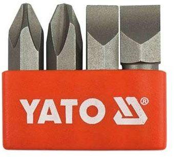 Zestaw bitów do wkrętaków udarowych ph2, ph3, 8 mm, 10 mm Yato YT-2812 - ZYSKAJ RABAT 30 ZŁ