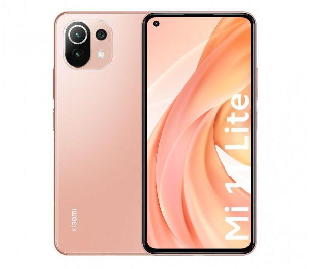 Xiaomi Mi 11 Lite 5G 6GB/128GB Róż GS-T-XIA-0613