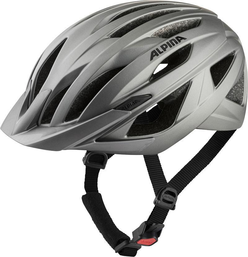 ALPINA kask rowerowy mtb PARANA dark-silver matt A9755233 Rozmiar: 58-63,A9755233par
