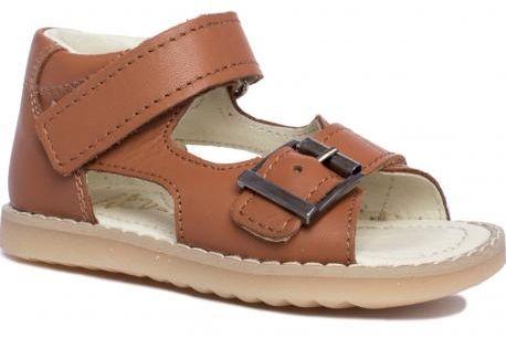 MRUGAŁA ROMA NATURAL 1104/1204 - 30 sandały sandałki dziecięce brązowe