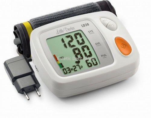 Ciśnieniomierz elektroniczny z zasilaczem Little Doctor LD30
