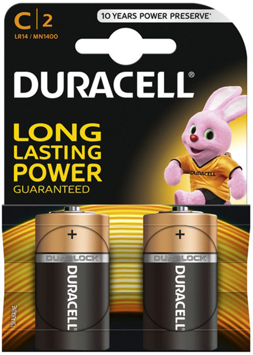 Bateria Duracell LR14/C 2szt.