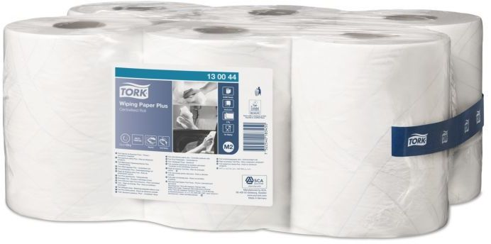 Czyściwo papierowe Tork Premium do średnich zabrudzeń białe