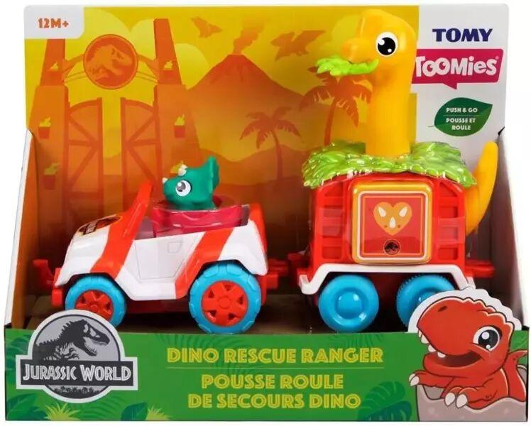 Toomies jeep z dino przyczepą Jurassic World TOMY