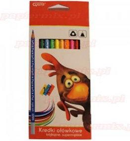 Kredki ołówkowe trójkątne FIORELLO 12 kolorów -170-2150-
