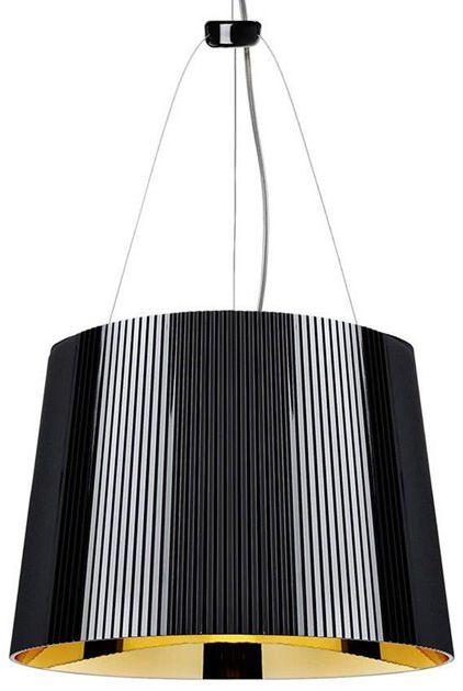 Ge'' Ø37 czarny, złota - Kartell - lampa wisząca