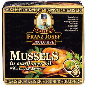 Franz Josef Kaiser Małże w oleju słonecznikowym o aromacie dymu 80 g