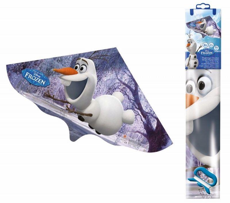 Latawiec dla dziecka 115x63cm Gunther 6181-EMMA 6181-OLAF, Motyw: Frozen - Olaf