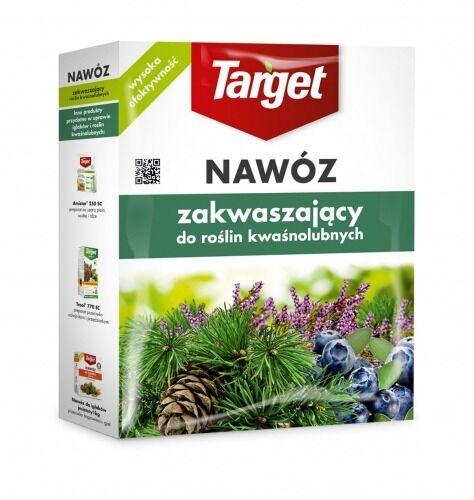 Nawóz do roślin kwaśnolubnych  zakwaszający  1 kg target