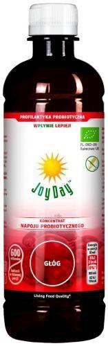 Koncentrat napoju probiotycznego GŁÓG BIO 500 ml Joy Day