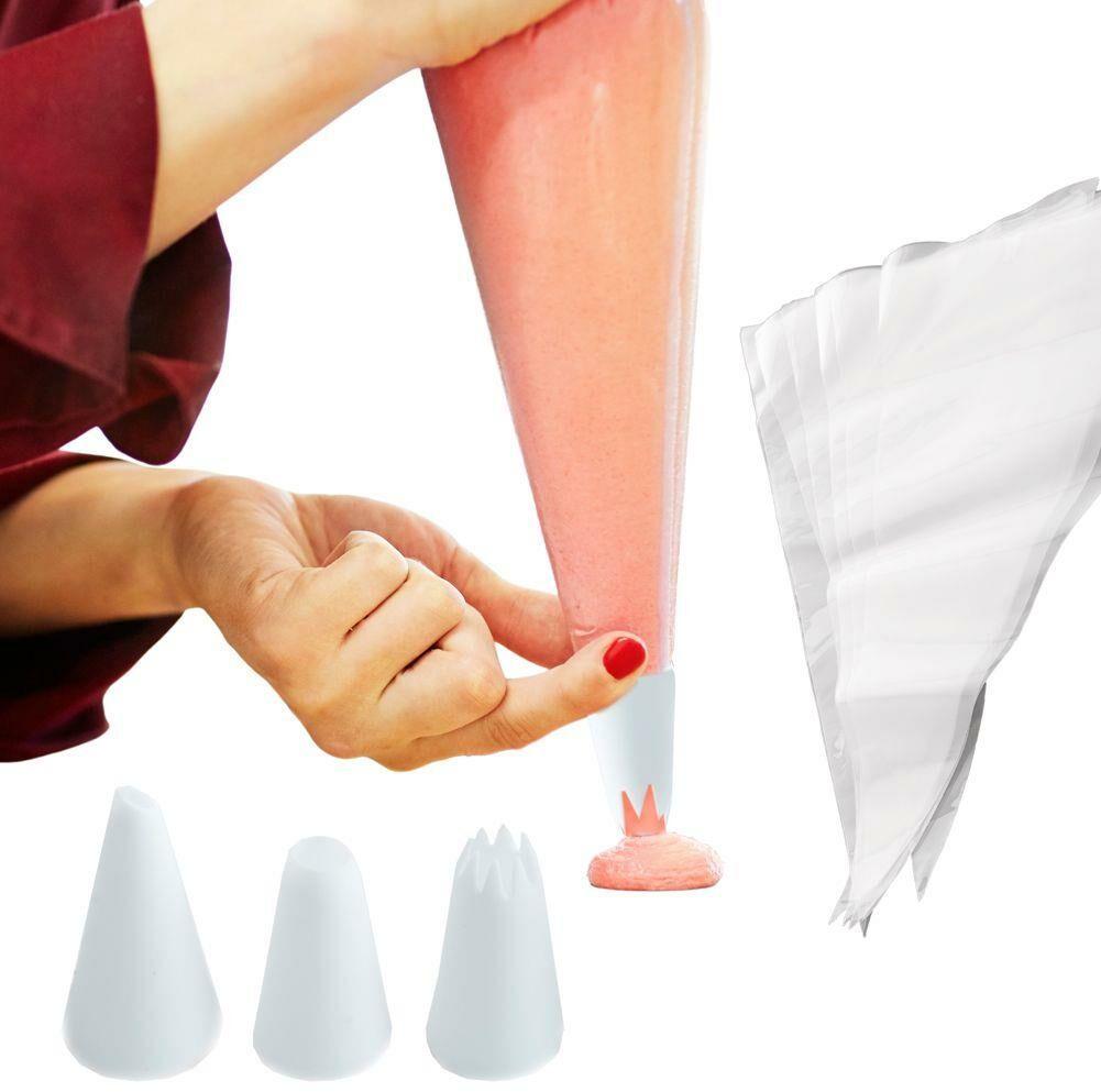 Rękaw, worek cukierniczy do dekoracji, masy, kremu, dekorator, + tylki 12 el.