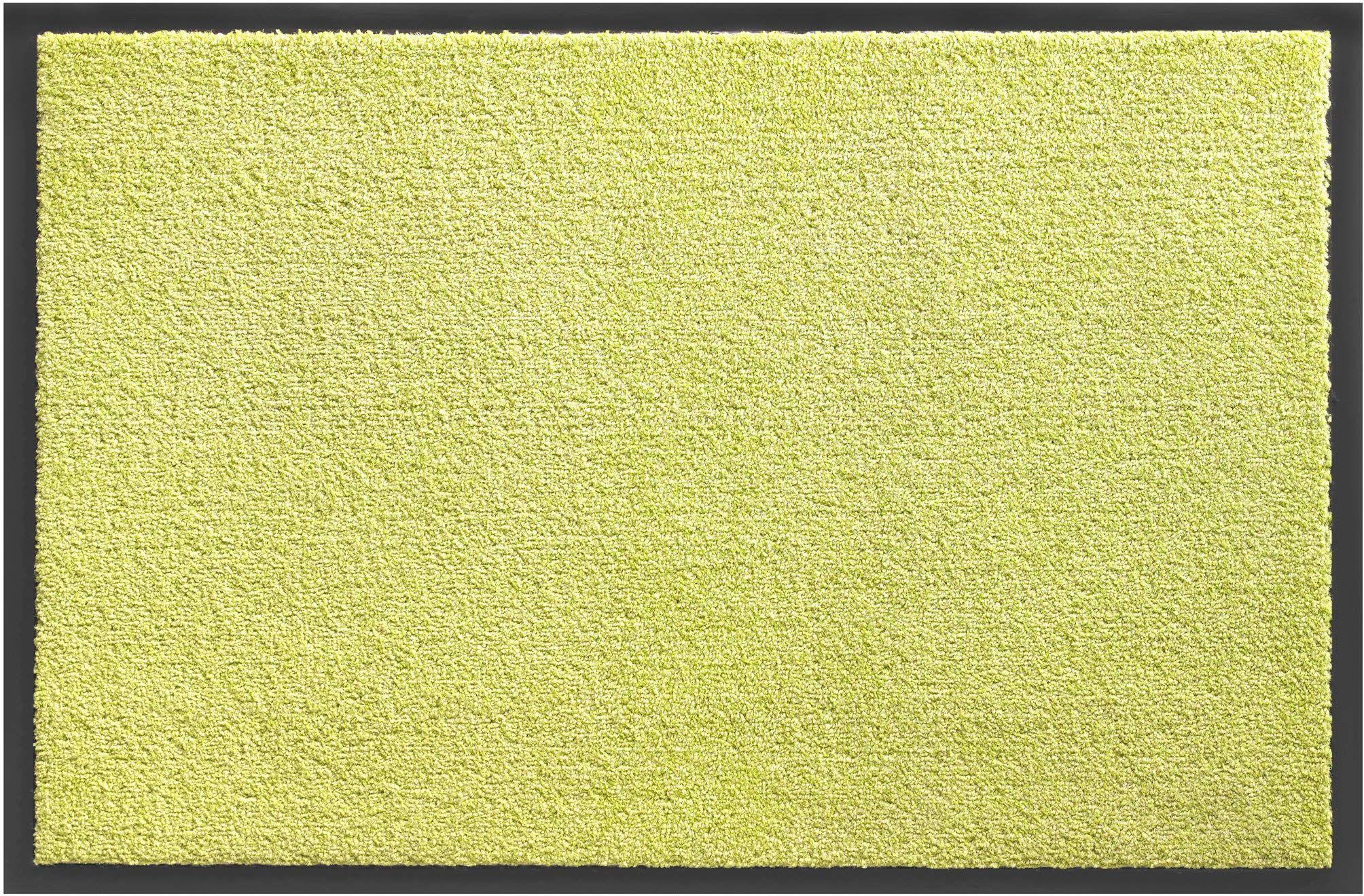 Cukierek mata wejściowa z polipropylenu przeciwpyłowego do użytku w pomieszczeniach 40 x 60 cm zielona