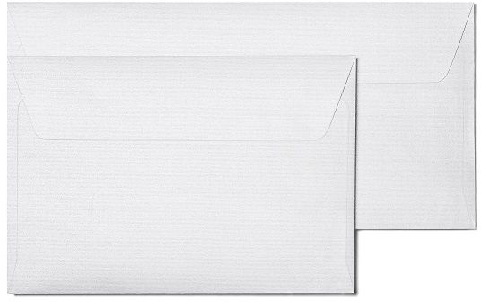 Koperty ozdobne Prążki biały DL