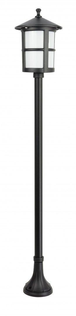 SU-MA CORDOBA II K 5002/1/TD lampa stojąca czarna E27 IP23 151cm