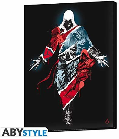ABYstyle Abysse Corp_ABYDCO461 Assassin''s Creed-Canvas-Legacy (30 x 40) X2