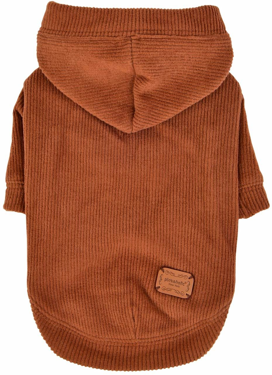 Pinkaholic NATD-TS7583-CM-S PIPPA CAMEL S koszulka z dzianiny z koronką