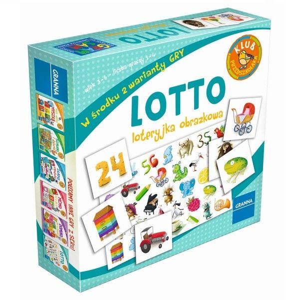 Lotto - Loteryjka obrazkowa ZAKŁADKA DO KSIĄŻEK GRATIS DO KAŻDEGO ZAMÓWIENIA